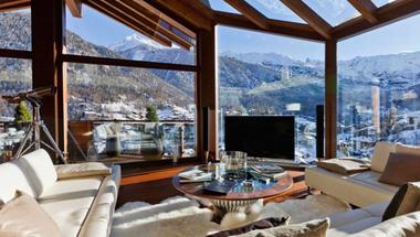 Kényelmes nappalik, eszméletlen kilátás