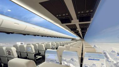 Aerospace - A jövő ablaktalan repülőgépe