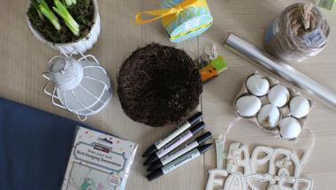 Húsvéti asztali dekor