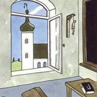 Akasztány vallás jelképei