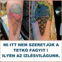 Tetkó fagyit nem szeretni