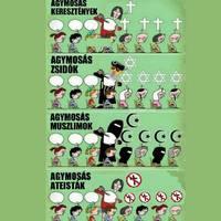 Ateista agymosás dettó a többi
