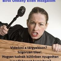 Bíróságon videózni
