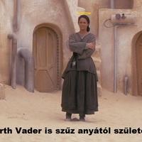 Dart Vader is szűz anyától született