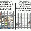 Tüntetők vs korrupt politikusok