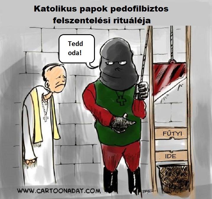 Papi pedofilia egyik megoldási lehetősége