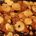 Tepsis hús és krumpli