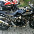 Suzuki Bandit motorkerékpár E85-tel