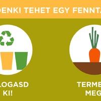 Napi több mint egy kiló szemét helyett recycling, upcycling, garázsvásár, ruhacsere, közösségi kertek!