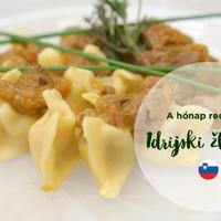 A hónap receptje: a szlovén idrijski žlikrofi (idrijai töltött tészta)