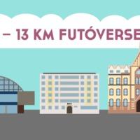 Idén sem marad el az EU-s futás: 13 év – 13 km