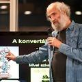 Mérő László: a konvertálható tudás a kulcs