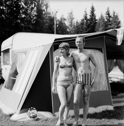 Orbadeni kemping, 1972, Svédország, Europeana, CC BY-NC-ND 4.0