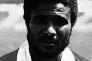 Eusébio emléke a Goodison Parkban