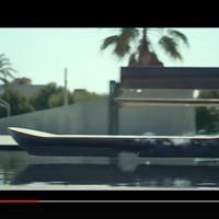 Lexus légdeszka működés közben (videó)