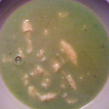 Borsókrém leves galuskával