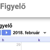 Elindult az SFF Figyelő naptára