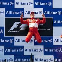 A Ferrari boldog születésnapot kíván Schuminak