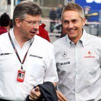 A McLaren megkörnyékezte a szabadságra vonuló Ross Brawnt