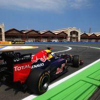 Vettel a leggyorsabb, rejtőzködtek a nagyok Valenciában