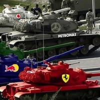 Speciális kasztnik a Bahraini Nagydíjra - kémfotó