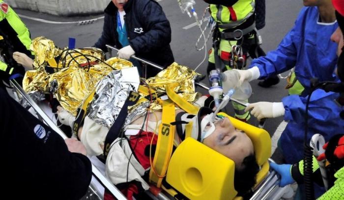 Robert Kubica a baleset után