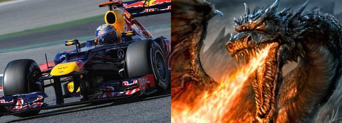 Red Bull sárkány