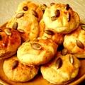 Ízletes pálinkakísérő - juhtúrós-tökmagos pogácsa
