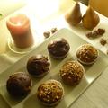 Adventi készülődés I.: narancsos-csokis és mogyorós-körtés muffinok