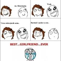 Az ideális barátnő...