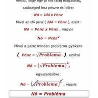 Nő = Probléma - Bizonyítással