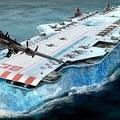 Jégből készült megahajóval a náci farkasfalka ellen