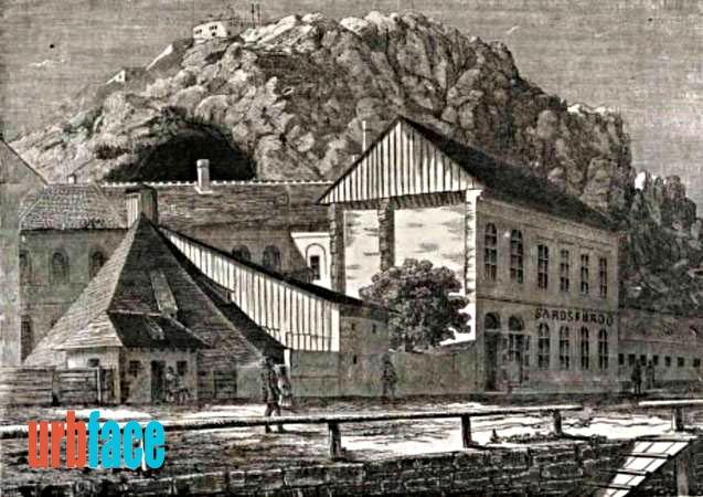 Az egykori Sáros-fürdő (Kép: Urbface.com)