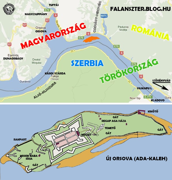40 éve a Duna mélyén a titokzatos Senki szigete ADA-KALEH%20MAP-T%C3%89RK%C3%89P