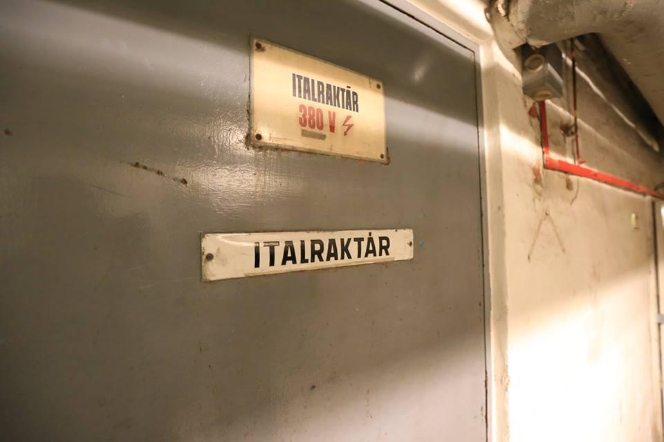 Italraktár (Fotó: GYU Fotó)