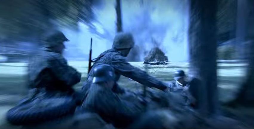 Német támadás (Fotó: Magyar korridor - Varsó 1944 című film)