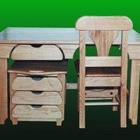 Állítható gyerek íróasztal - állítható szék