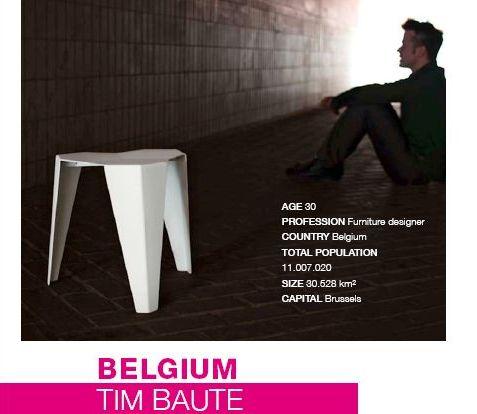 stool tim baute belgium