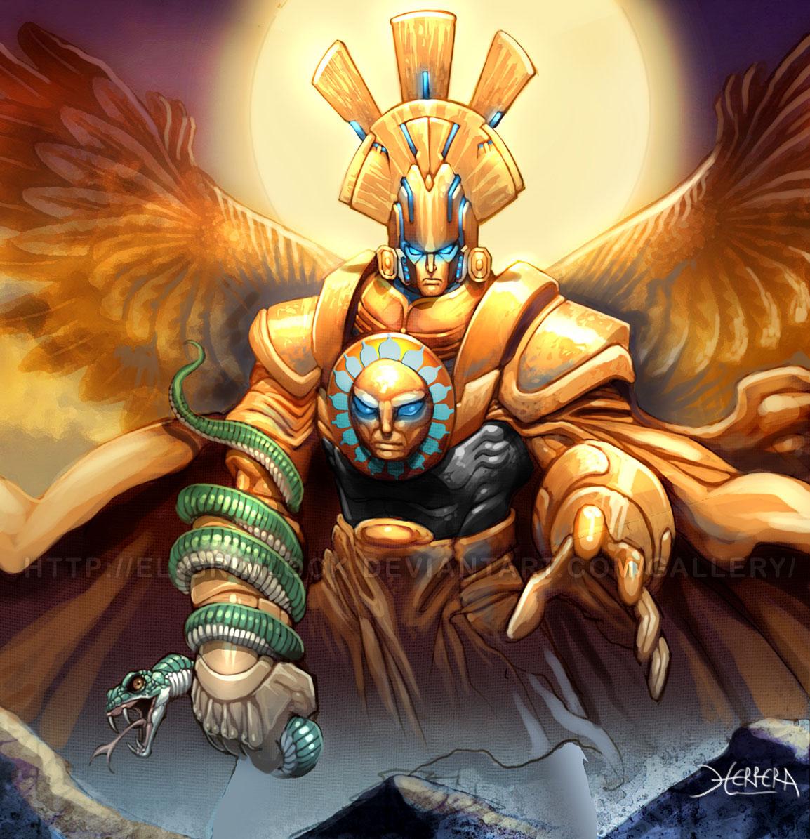 Inka Istenek  Fantasy Art