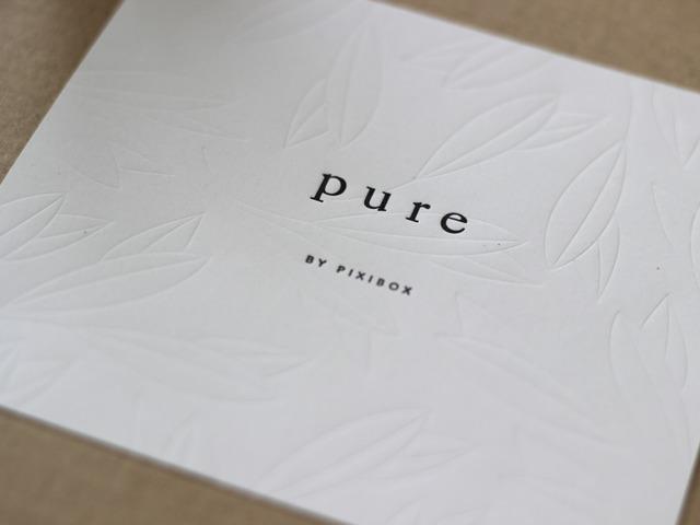2015. szeptemberi Pure by Pixibox