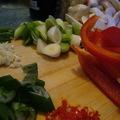 Eccerű - Koreai sült tészta garnélarákkal, tofuval