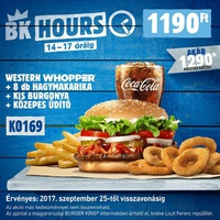 Burger King kupon körkép
