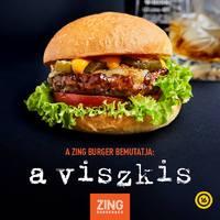 Viszkis burgerrel támad a Zing