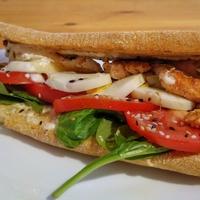 Laza lazacos - Salmon Deluxe szendvics