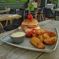 Csirkés-paradicsomos-sajtos - Chicken Caprese Burger