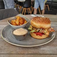Ázsiai Csípős Csirke Burger