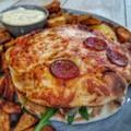 Pizzába oltott hamburger - Pizza Burger