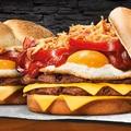 Dupla húsos-tojásos szendvics a hazai Burger Kingben