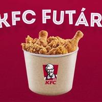 KFC csirke 30 perc alatt: beindult a KFC Futár!