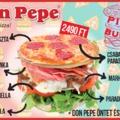 Extrán pizzás március a Don Pepében